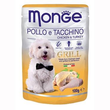 MONGE GRILL BOCCONCINI CON POLLO E TACCHINO