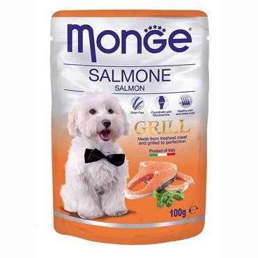MONGE GRILL BOCCONCINI CON SALMONE