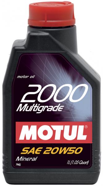 2000 Multigrade 20W-50